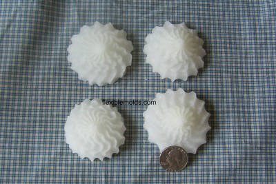 2 inch rosettes