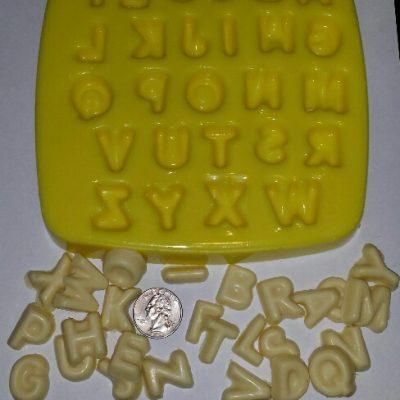 alphabet embeds