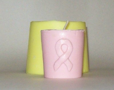 awarenes ribbon votive