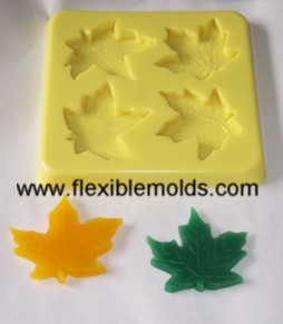Fall Leaves Candle & Soap Mold