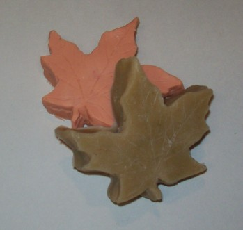 Thick Fall Leaves Candle & Soap Mold