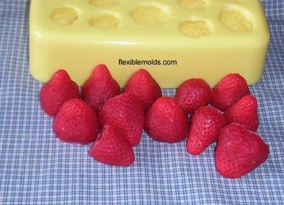 Mini Fruit//Apple Slices Candle /& Soap Mold